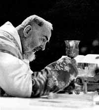Padre Pio at Consecration