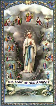 Image result for our lady of the rosary